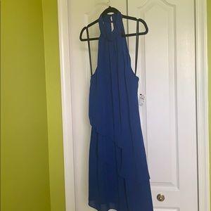 Laundry blue halter mini-dress-sz10